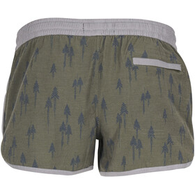 United By Blue W's Painted Pines Boardshorts Olive
